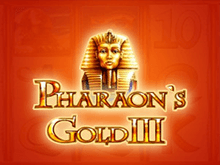 Pharaohs Gold III в казино Вулкан Платинум