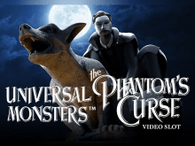 Игровой автомат Universal Monsters: The Phantom's Curse Video Slot